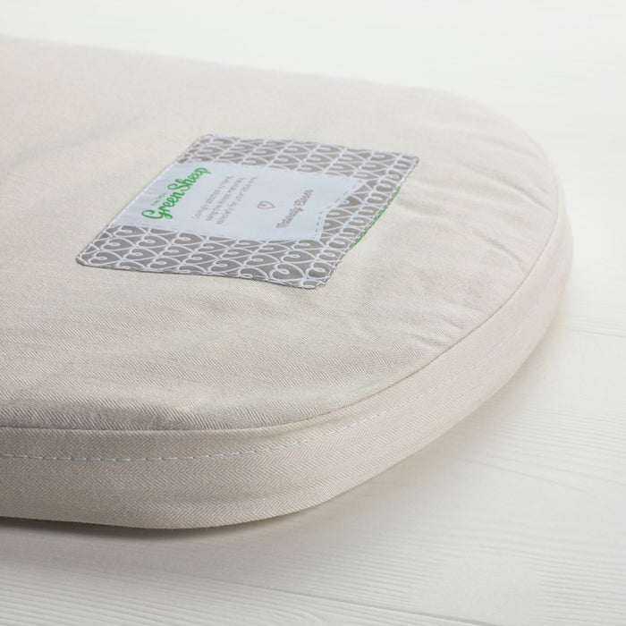 The Little Green Sheep Natural Carrycot Mattress for Bugaboo Cameleon (32 cm x 75 cm)