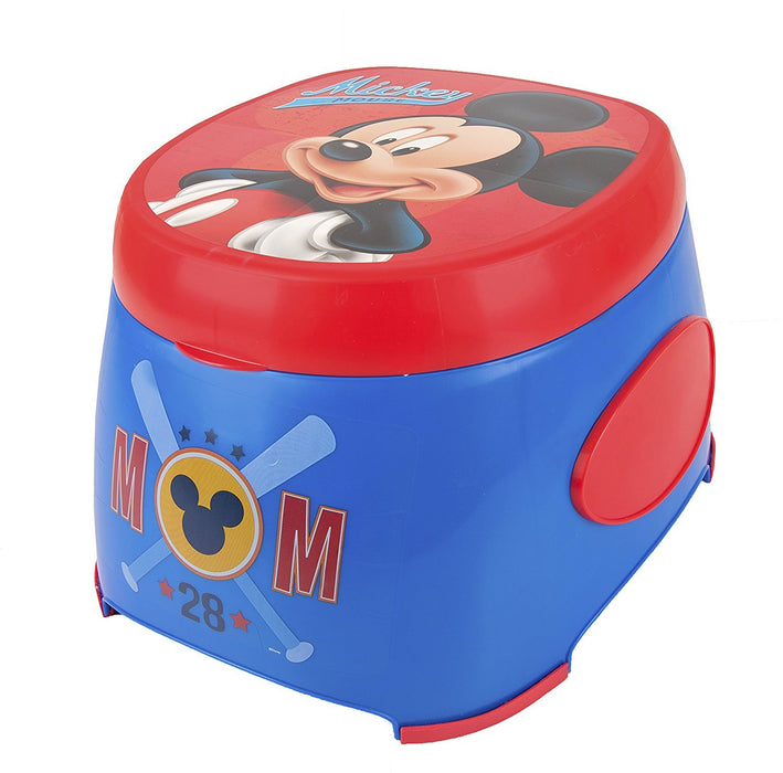 Disney Mickey Mouse 3-in-1 Potty Trainer, Blue