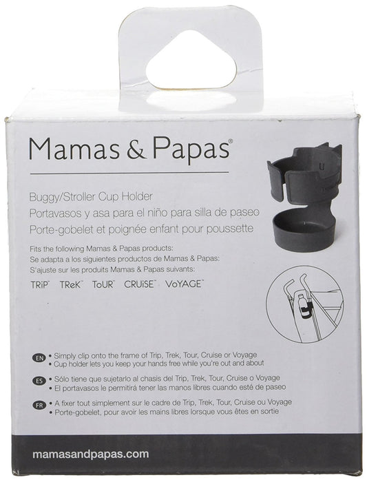 Mamas & Papas Buggy Cup Holder - Charcoal