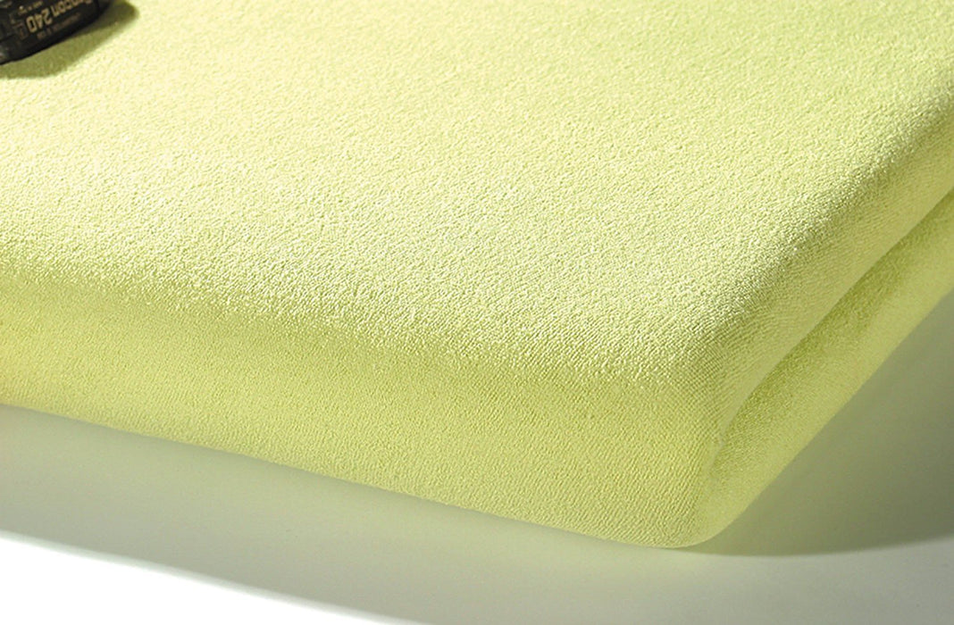 Alvi Frottee Fitted Sheet (70 x 140 cm, Nature/Beige)