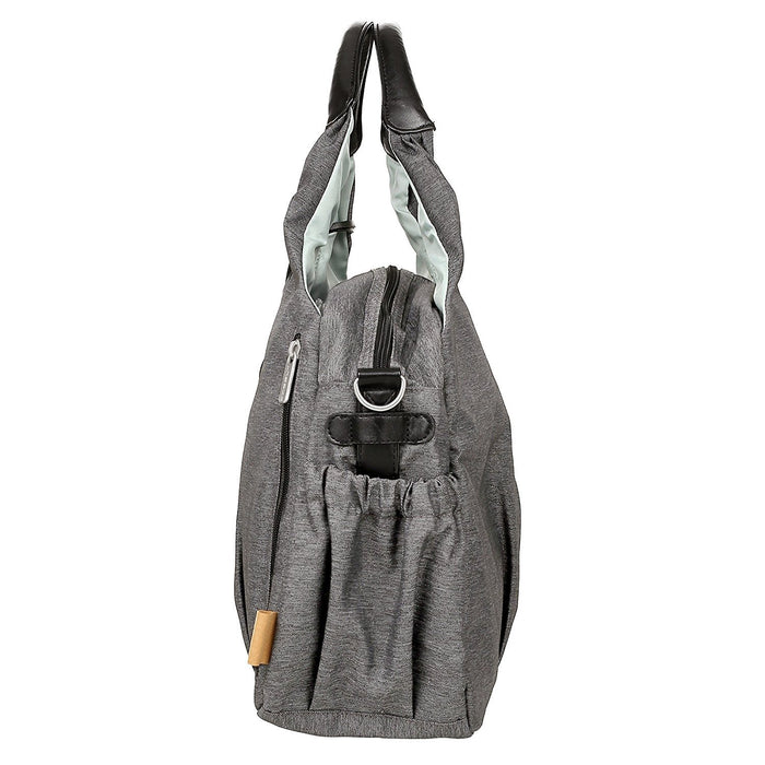 Lassig Green Label Global Diaper Bag Ecoya, Anthracite