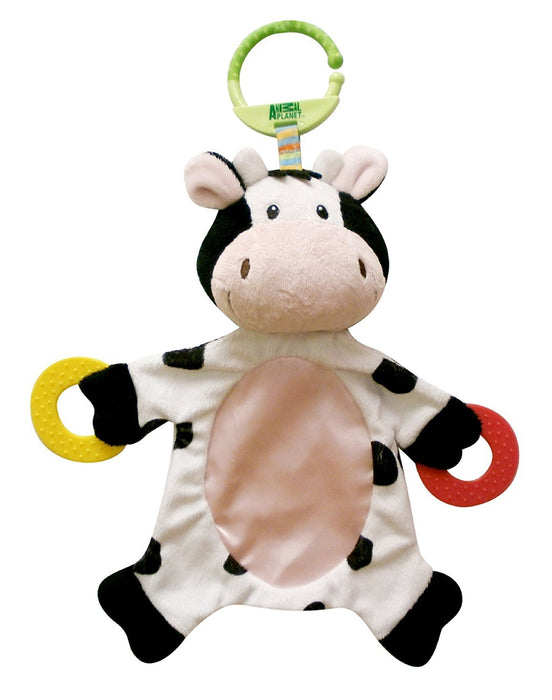 Animal Planet Teether Blanket Buddy (Cow)