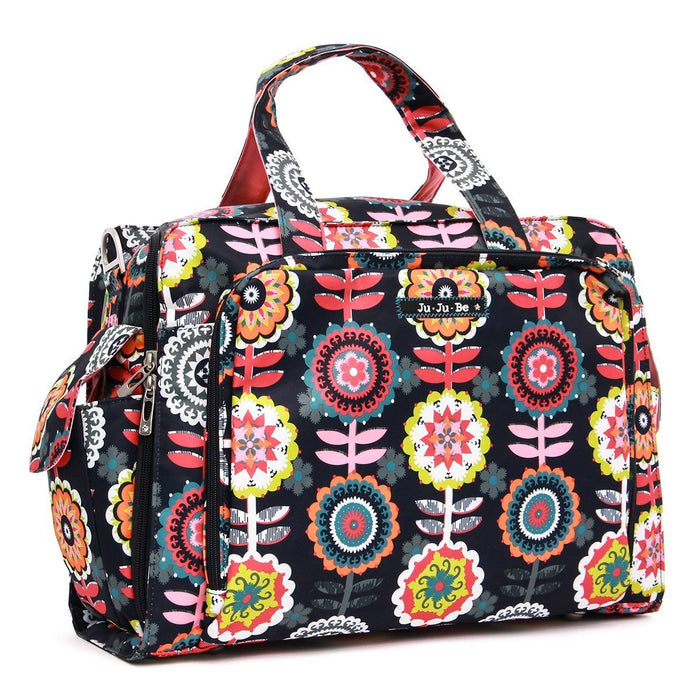 Ju-Ju-Be Be Prepared Changing Travel Bag, Twins Bag, Dancing Dahlias
