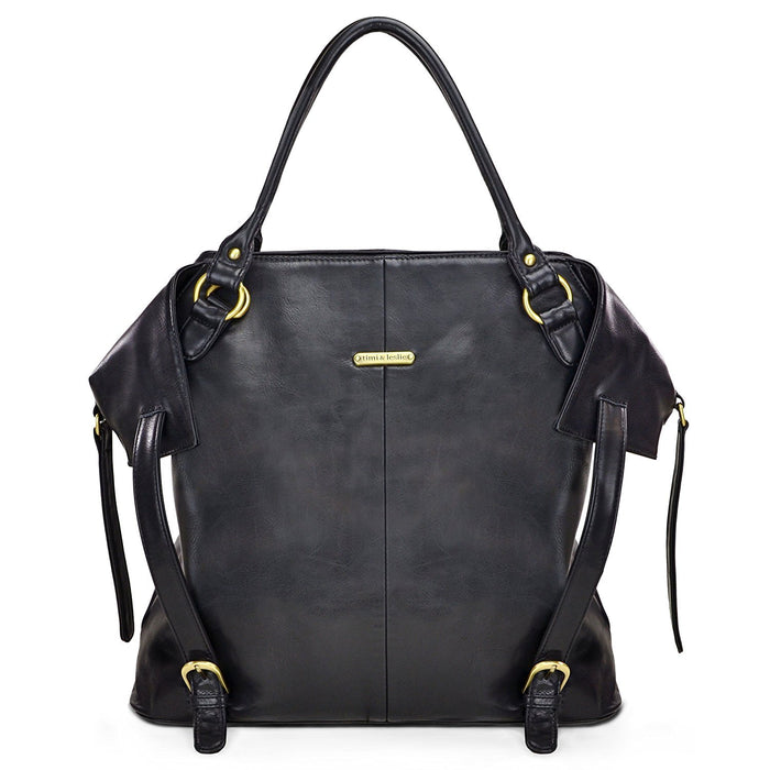 timi & leslie Charlie Changing Bag (Black)