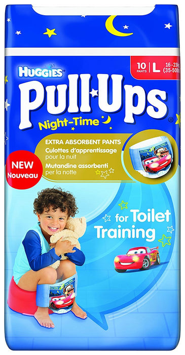 Huggies Pull Ups Night Time Potty Training Pants for Boys - Large, 60 Pants Total