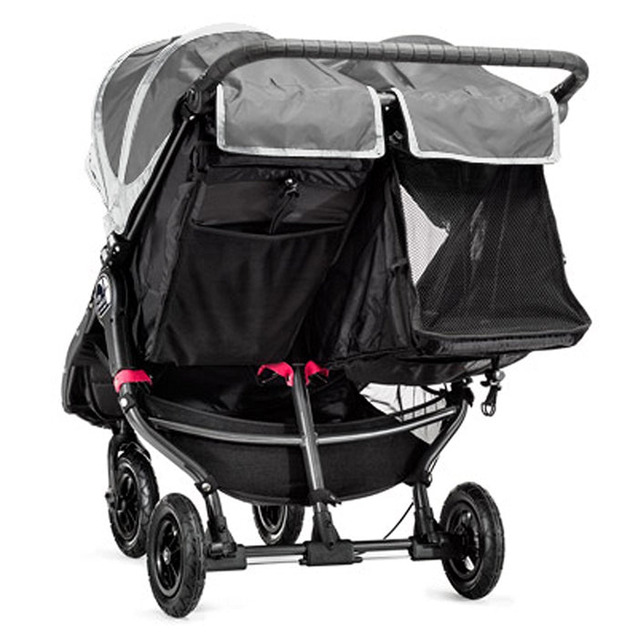 Baby Jogger City Mini GT Double Stroller, Steel Grey