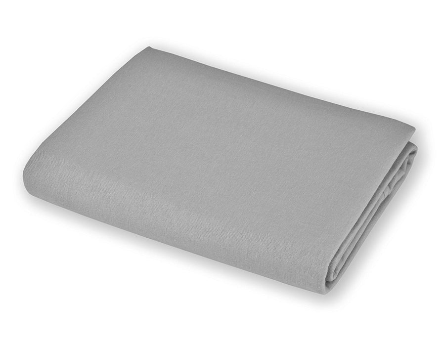 American Baby Company 100% Cotton Value Jersey Knit Crib Sheet,  Gray