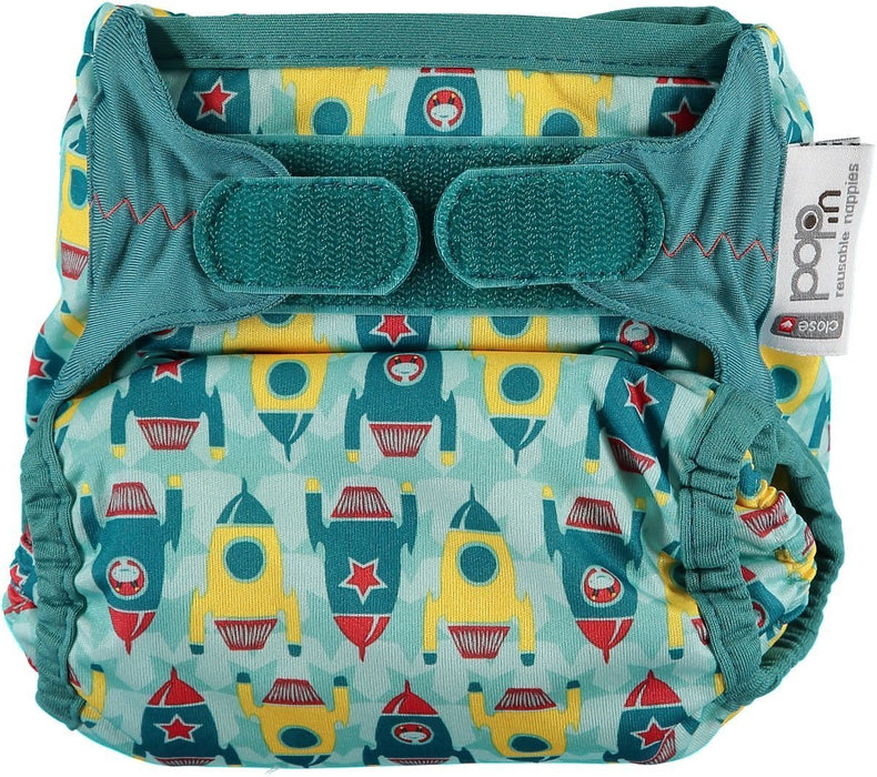 Close Pop-In 228175 Cloth Nappy with Bamboo Pad Rockets