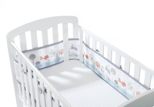 BreathableBaby Cot Mesh Liner (Enchanted Forest)
