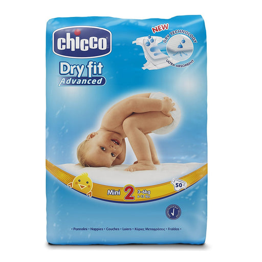 Chicco Dry Fit Advanced Layer Mini Size 2 250 Pieces