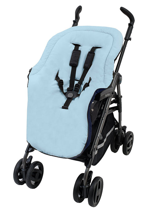 Altabebe Summer Footmuff for Stroller (12-36 Months, Black/Light Blue)