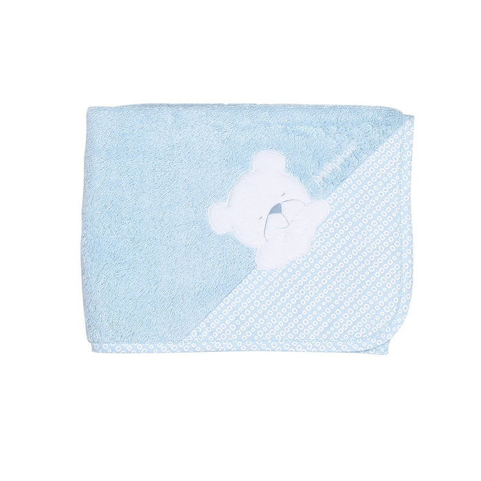 Petit Praia 80 x 80 cm Terry Cloth Towel Orson Azul