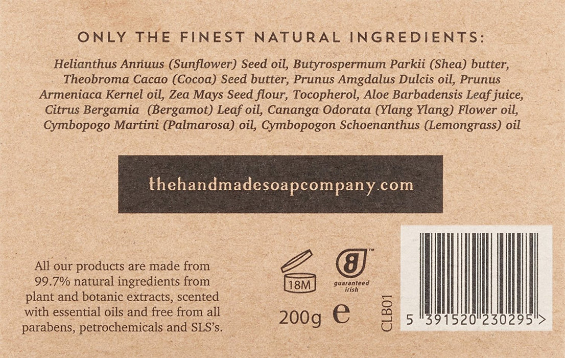 The Handmade Soap Company Lemongrass and Bergamot Body Butter 200 g