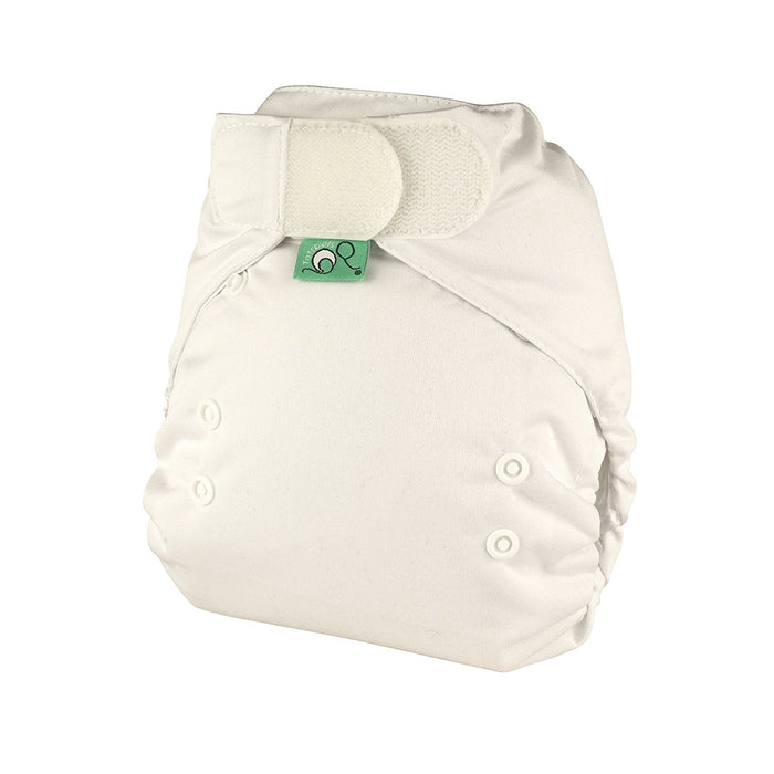 Tots Bots 8-35 lbs Easyfit Star Nappy White