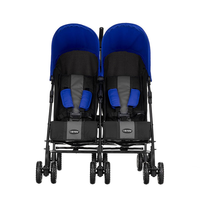 Obaby Apollo Twin Stroller (Blue)