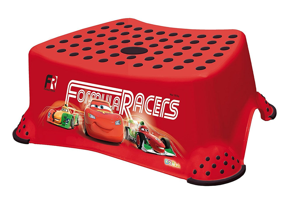 Disney Cars 2 Step Stool - Red - Lightning McQueen