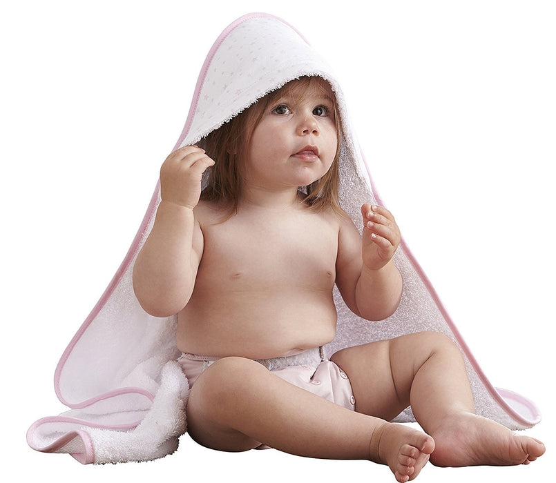 Clair de Lune Hooded Towel (Pink, Star)