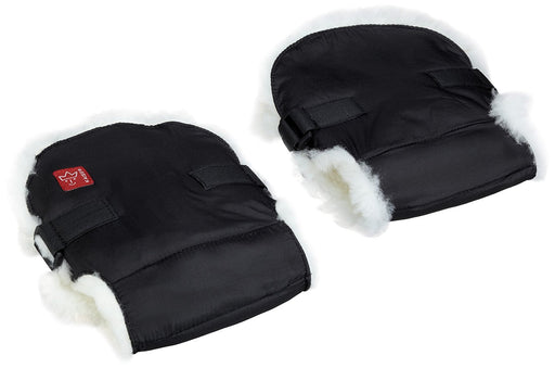 Kaiser Handmuff Sheep White Lampskin (Black)