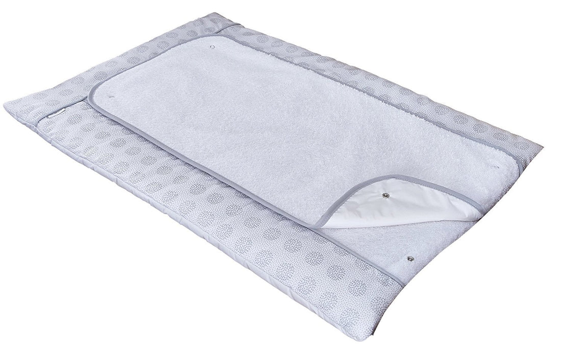Clair de Lune Changing Mat (Grey, Speckles)