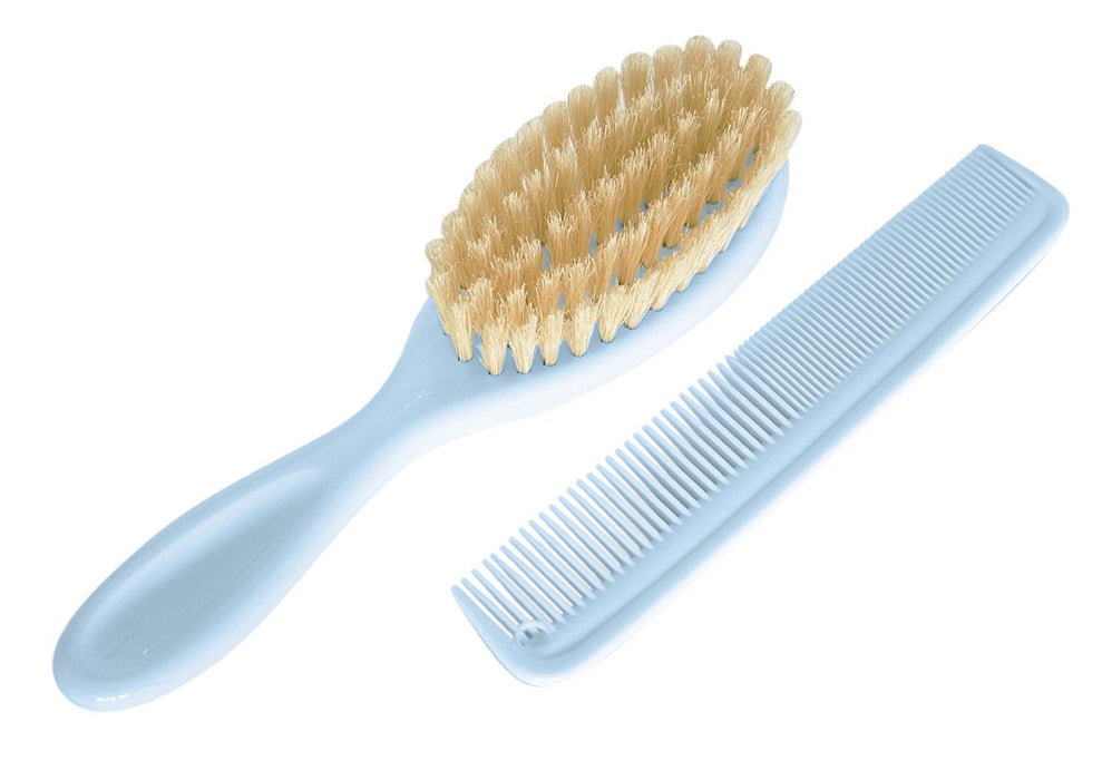 Rotho Babydesign Comb and Brush (Baby BluePearl)