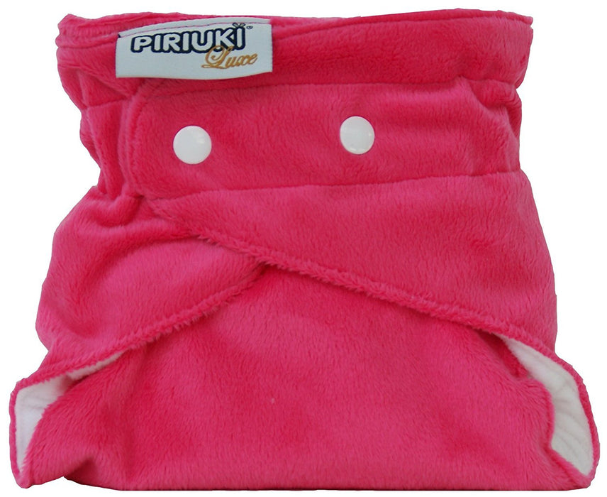 Piriuki Luxe Reusable Pocket Diaper (Pink)