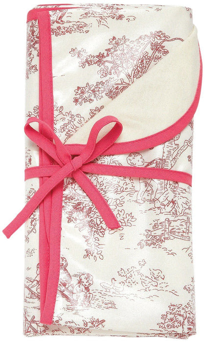 AM PM Kids! Reversible Blanket, Pink Toile