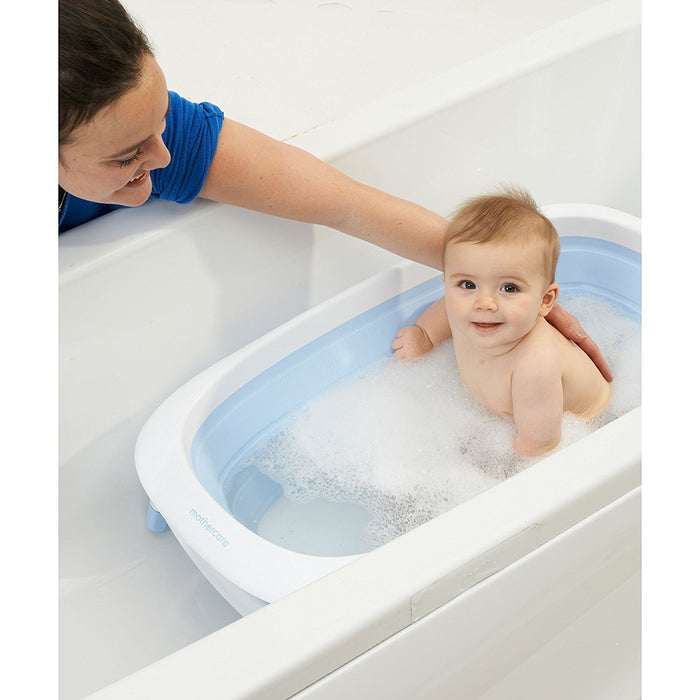 Mothercare Foldable Baby Bath (Blue)