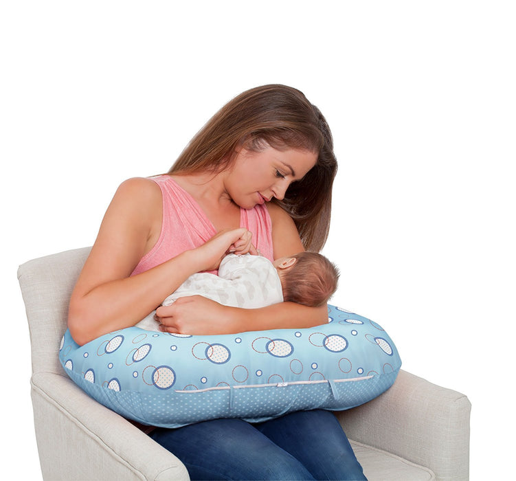 Clevamama ClevaCushion 10-in-1 Nursing Pillow (Blue)