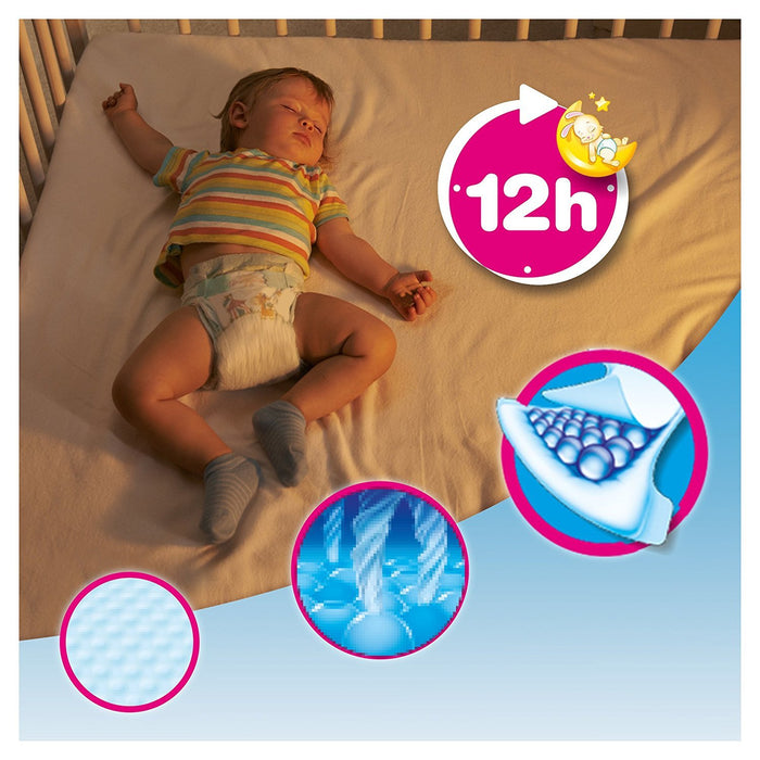 Dodot - Nappies - Size 5 (13-18 kg) - 3 Packages x 54 Nappies: 162 Units