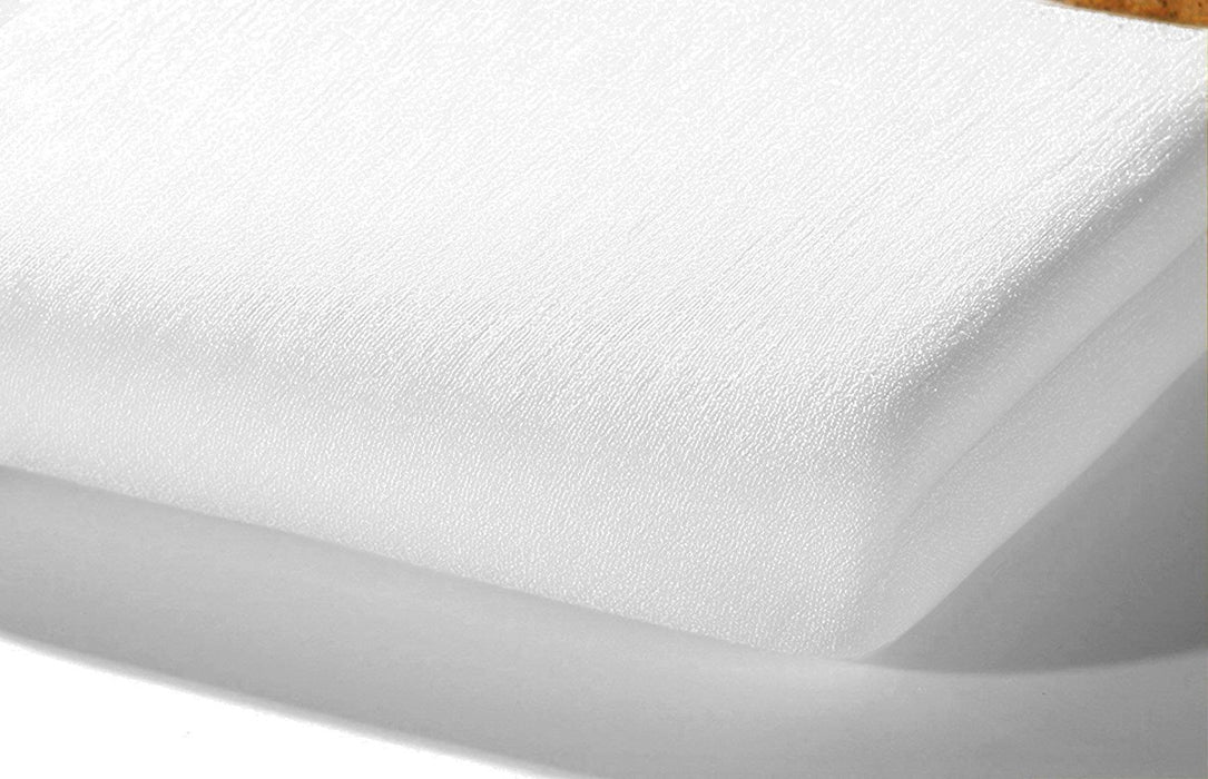 Alvi Frottee Fitted Sheet (70 x 140 cm, White)