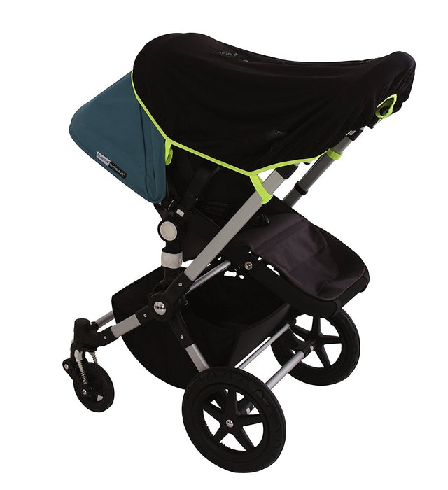 SnoozeShade Original - baby sunshade and blackout blind that fits all prams and pushchairs (blocks 99% UV)
