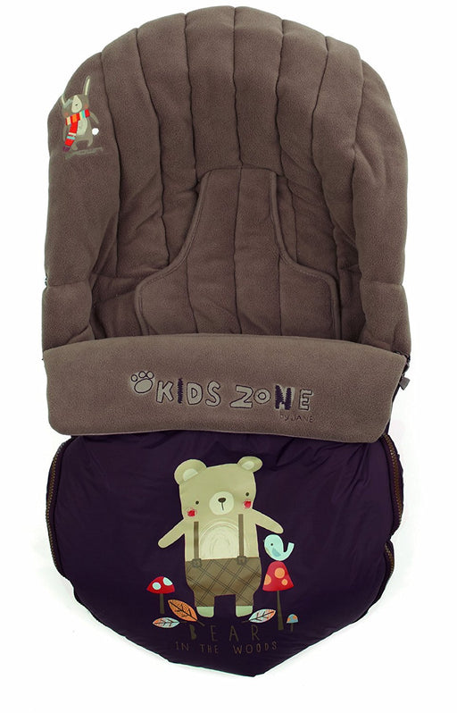 Jane Moom Go Footmuff (Brown)