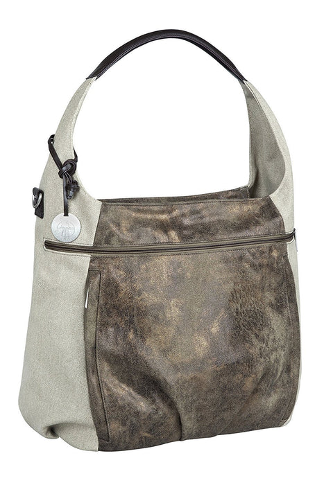 Lassig Casual Hobo Bag (Olive Beige)