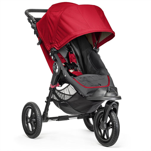 Baby Jogger City Elite Single Stroller - Red