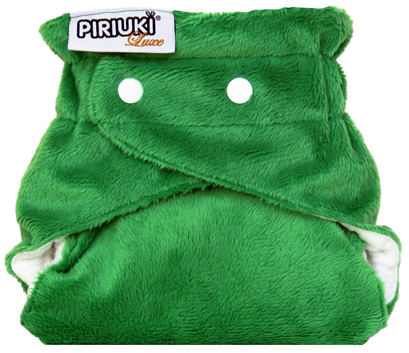 Piriuki Luxe Reusable Pocket Diaper (Dark Green)