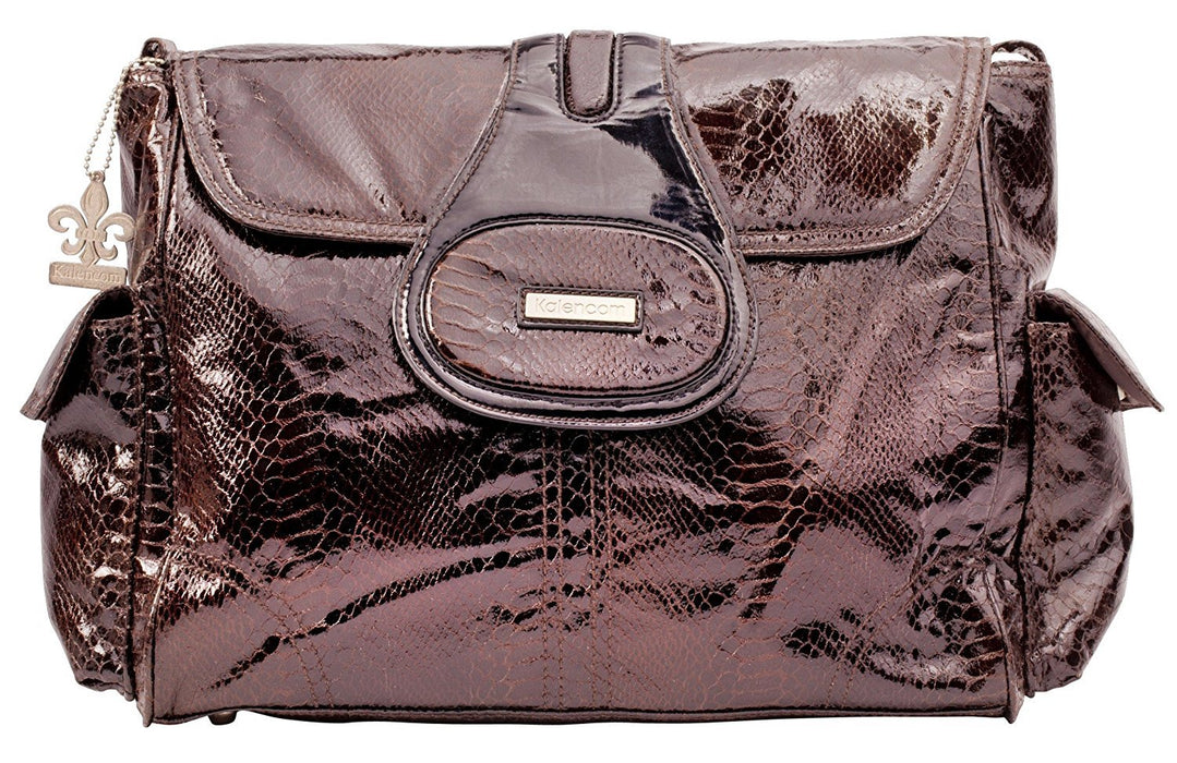 Kalencom Fashion Diaper Bag, Changing Bag, Nappy Bag, Mommy Bag (Elite Cosmopolitan Chocolate)