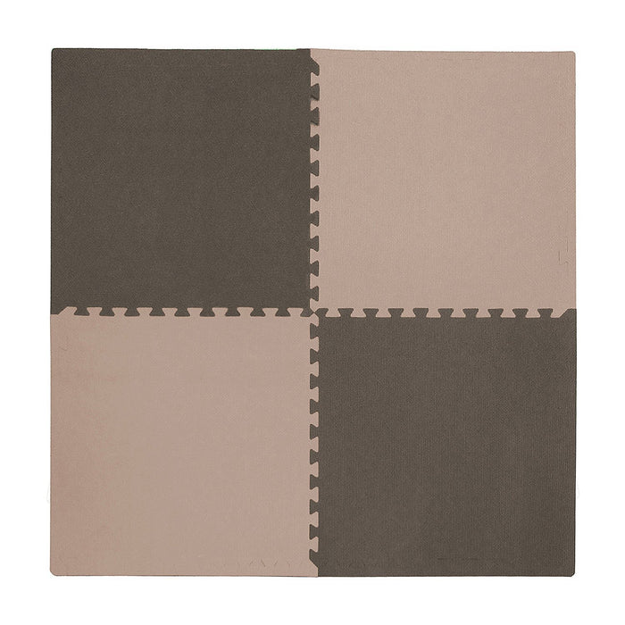 Tadpoles 4 Piece Playmat Set, Taupe/Brown