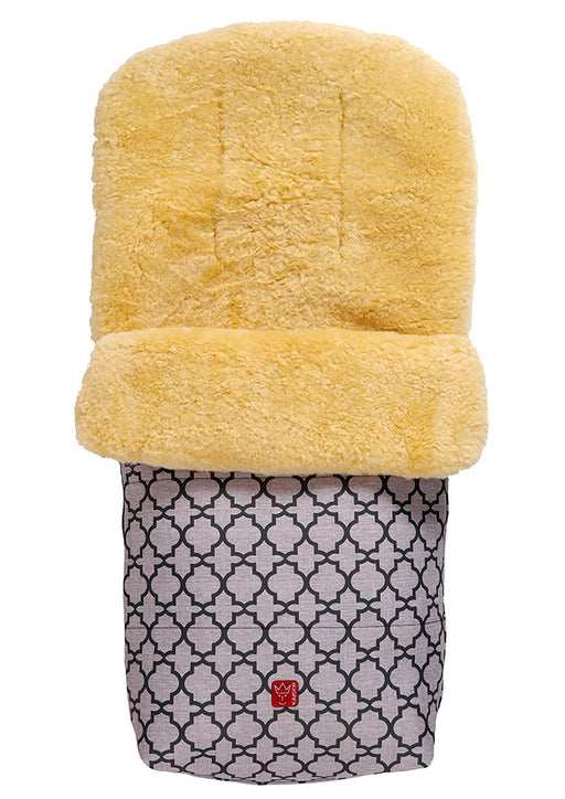 Kaiser Natura Footmuff With Sheepskin (Anthracite-Ornament, 65411324)