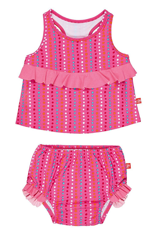 Lassig Tankini Baby Nappies (24 Months, Dottie, X-Large, Two-Piece)
