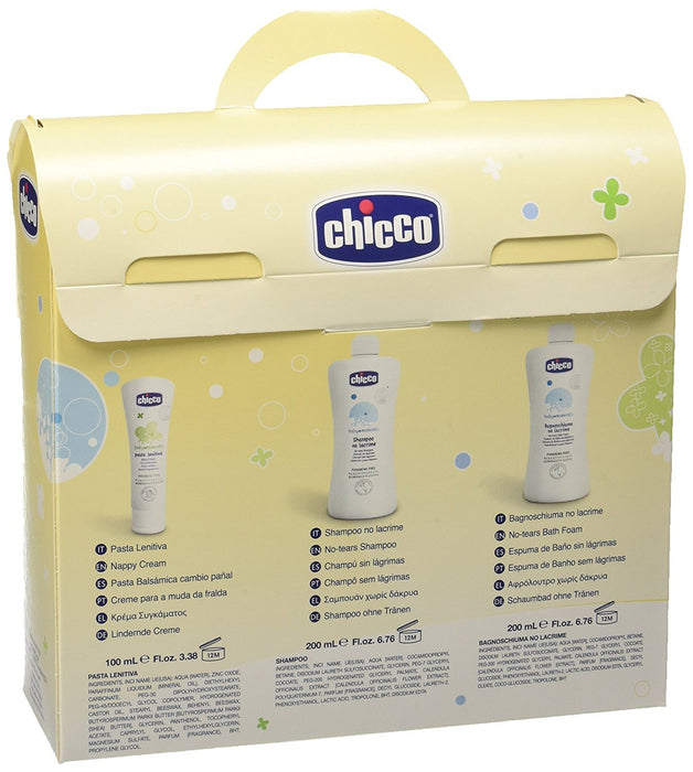 Chicco 3207 - Box Shower Gel and Shampoo without tears + Pasta Lenitiva