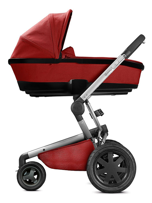 Quinny Foldable Carrycot (Red Rumour/Black Frame)
