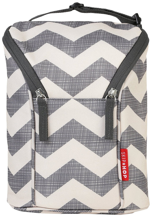 Skip Hop Double Bottle Bag (Chevron)