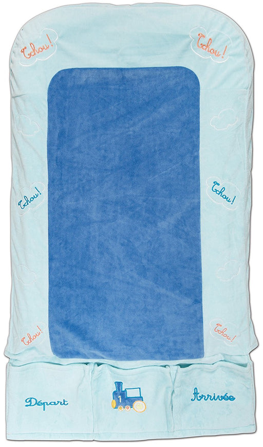 Les Chatounets Train Baby Changing Mat
