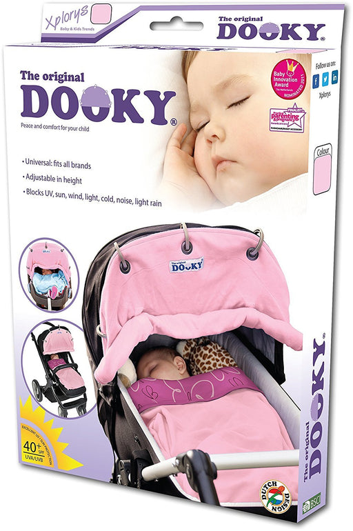 Dooky Pram/Pushchair Shade (Baby Pink)