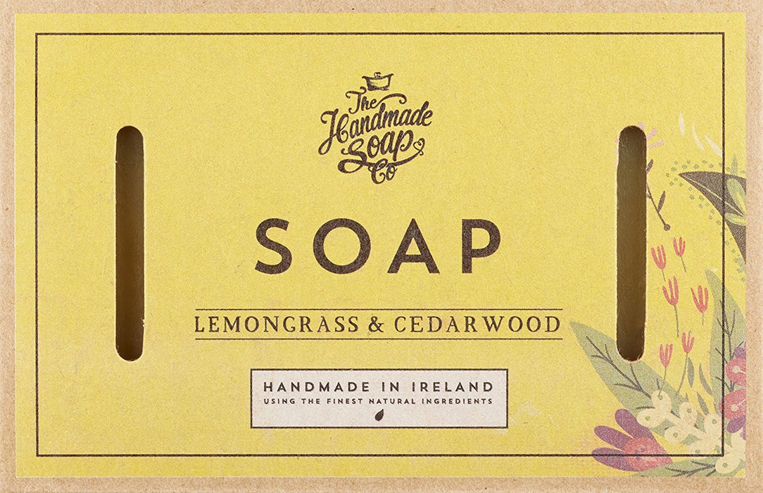 The Handmade Soap Company Lemongrass and Cedarwood Soap 160 g