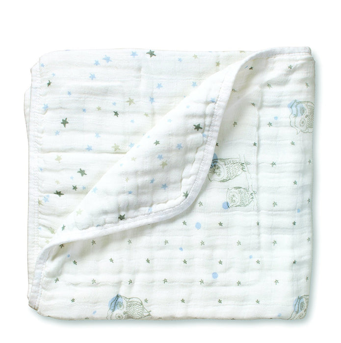 aden + anais Night Sky Hibou and Starburst Dream Blanket