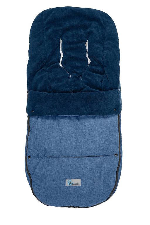 Altabebe AL2280P-05 Winter Footmuff for Bugaboo and Joolz Strollers ( 12-36 Months, Marine)