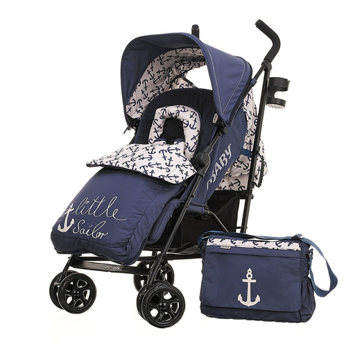 Obaby Zeal Stroller Bundle (Little Sailor)