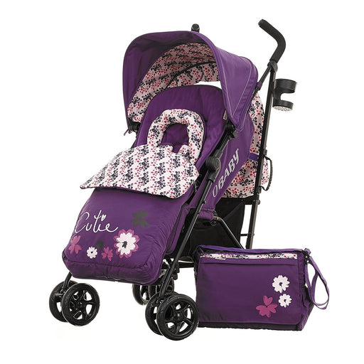 Obaby Zeal Stroller Bundle (Little Cutie)