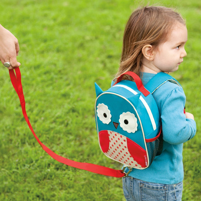 Skip Hop Zoo Little Kid and Toddler Safety Harness Backpack, Otis Owl